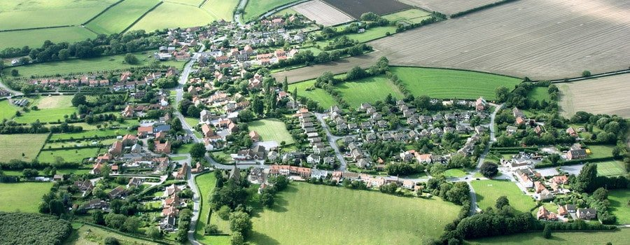 aerial village location UK PCB will buy any house