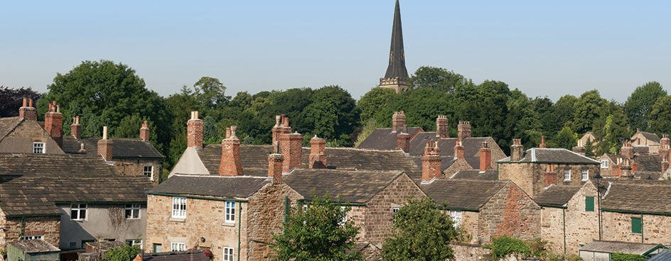 Rooftops in a village - UK Property Cash Buyers
