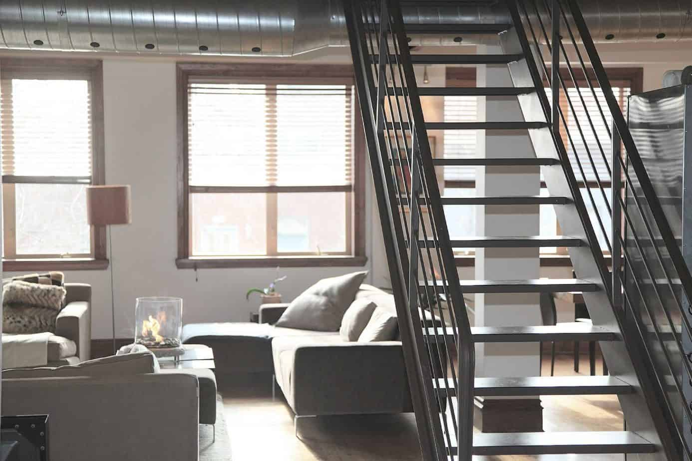 Stylish stairs - UK Property Cash Buyers