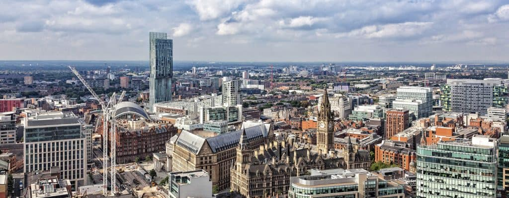 Manchester Skyline - UK Property Cash Buyers