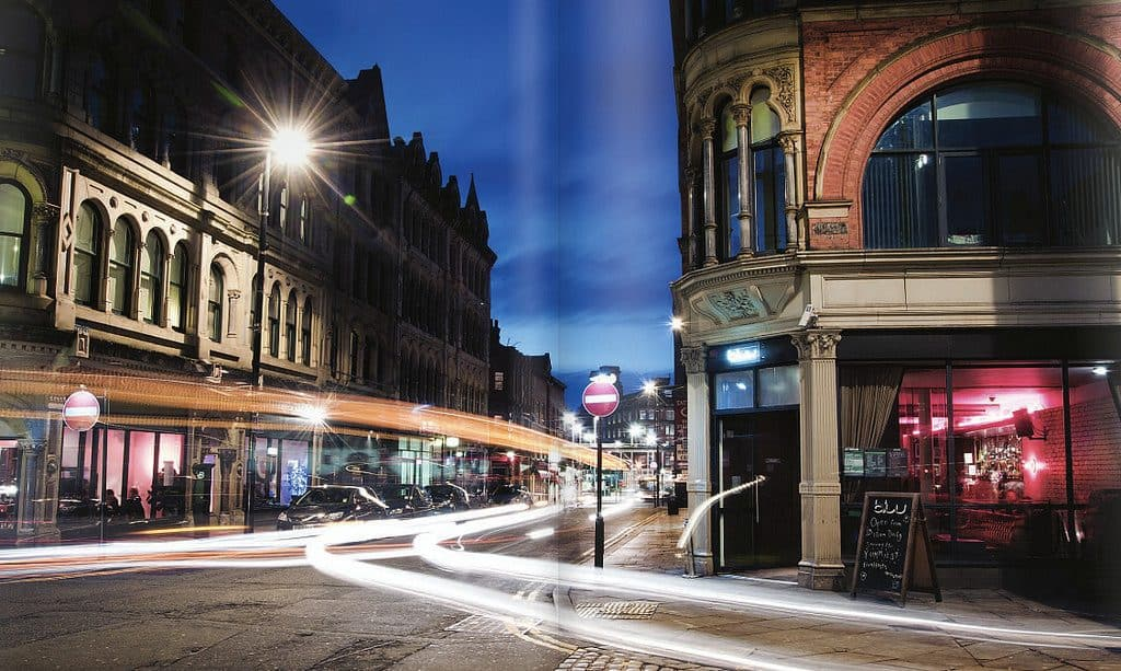 Northern Quarter at night - UK Property Cash Buyers