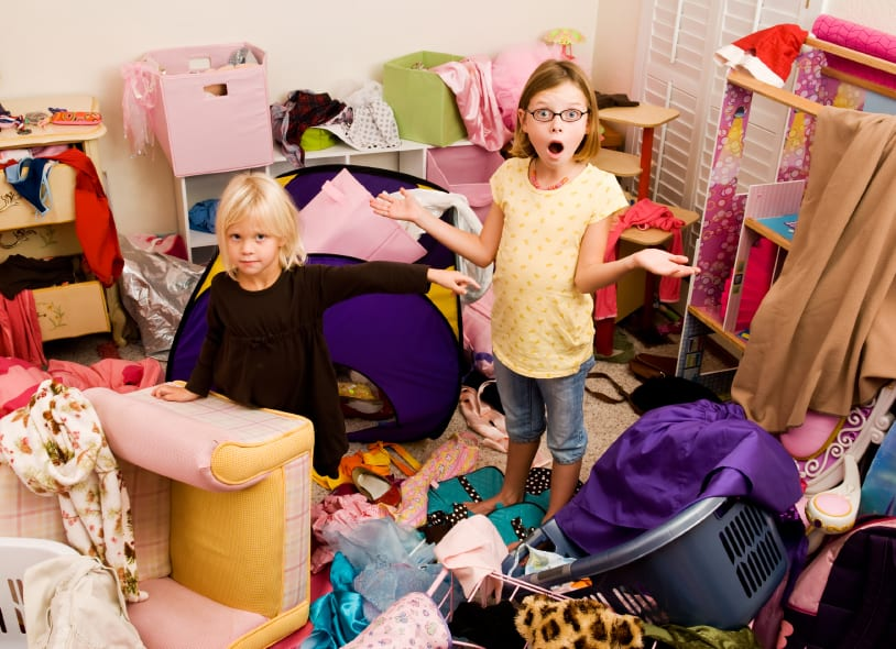 untidy room - UK Property Cash Buyers