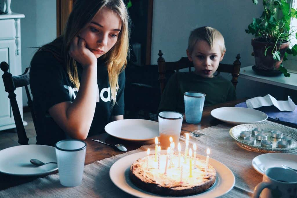 Birthday party at home - UK Property Cash Buyers
